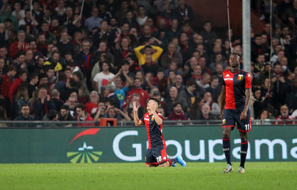 Agudelo scored for Genoa