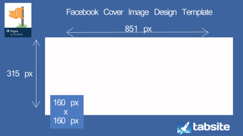 facebook cover image powerpoint design template for pages, Presentation templates