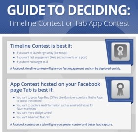 Advantages of timeline contest and tab contests - a guide to deciding which to use