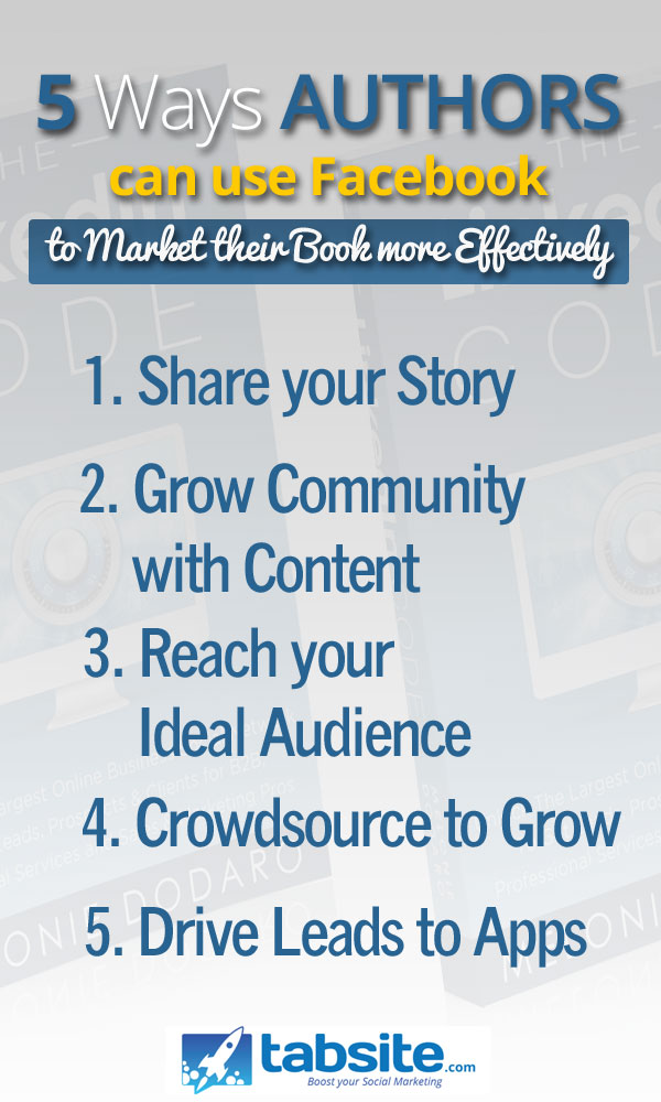 5 ways authors can use facebook for marketing