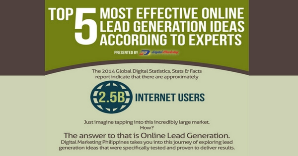 5 Most Effective Online Lead Generation Strategies -315
