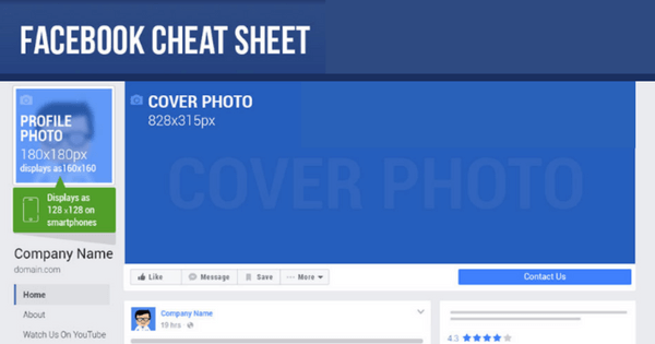 facebook cheat sheet 1