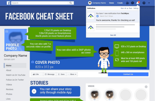Facebook Cheatsheet
