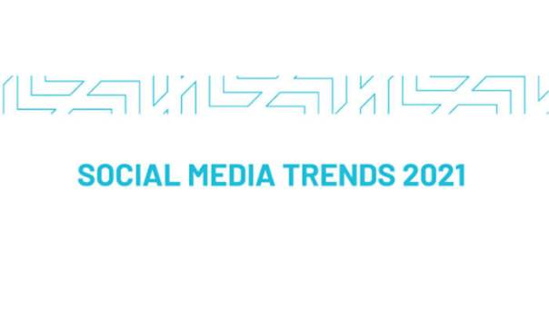 The Top 6 Social Media Trends of 2021 - Infographic.