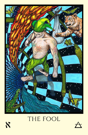 Fool Tabula Mundi Tarot color version