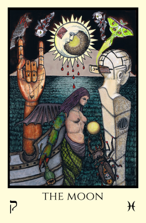 Moon Tabula Mundi Tarot color version