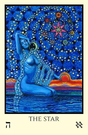 Star Tabula Mundi Tarot color version