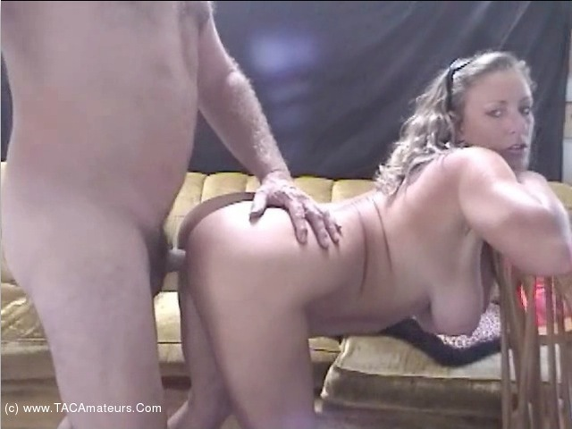 AwesomeAshley - Retro Couch Sex Pt2