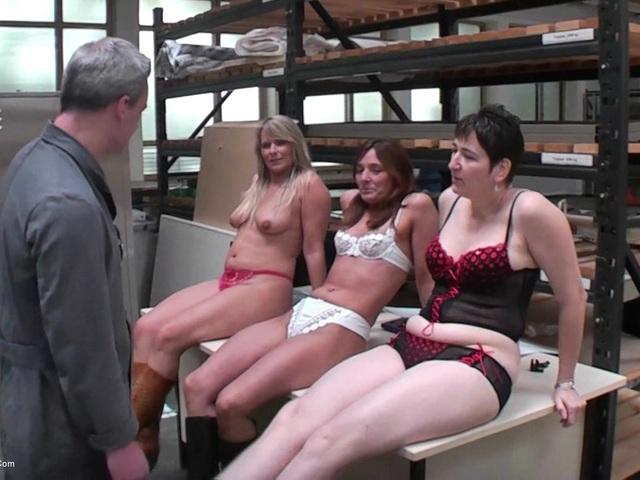 SweetSusi - Three Horny Girls Fucked At Work