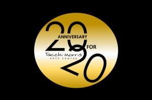 20for20 Tacchi Morris Arts Centre logo
