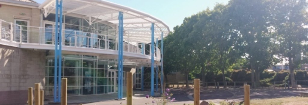 Exterior of Tacchi-Morris Arts Centre, Taunton, Somerset.