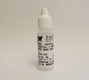 Atropine Eye Drops Bottle
