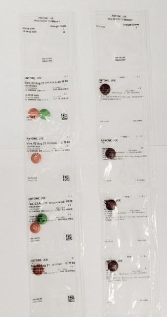 Tache Pharmacy Pacmed Strips