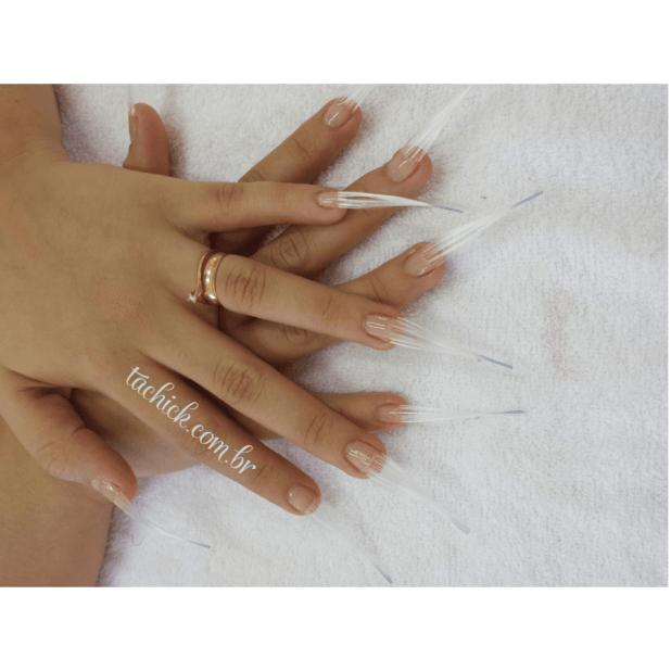 fibra nas unhas