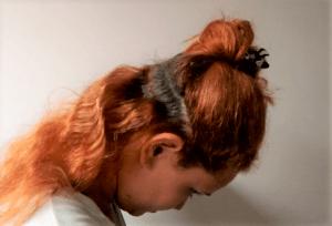 Terapia capilar com argila verde mecha por mecha