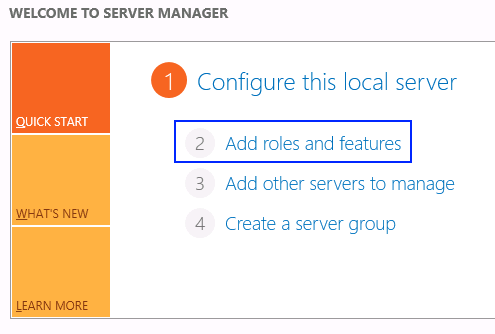 Using server manager to install flash player on Windows Server 2012