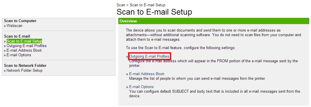How To Set Scan To Email On An Hp Officejet 8600 With Office 365