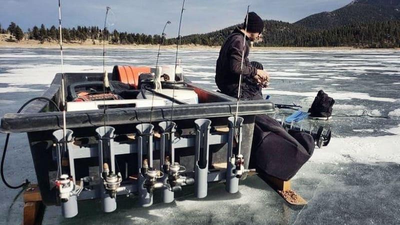 killer ice fishing sled modifications