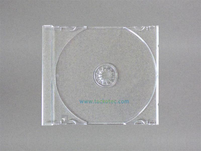 plateau cristal simple pour boitier cd standard 10 mm