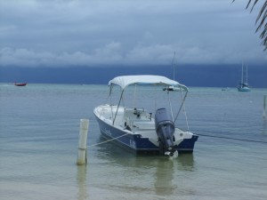Belize Weather moving in