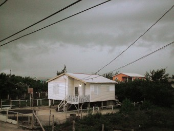 Tropical Storm Richard affecting Belize Weather