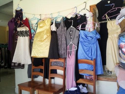 dress shopping in belize