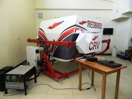 redbird flight simulator beize
