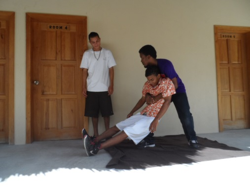 belize red crodd first aid course