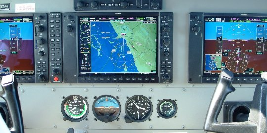 cessna dashboard