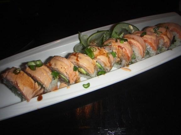 Salmon rolls