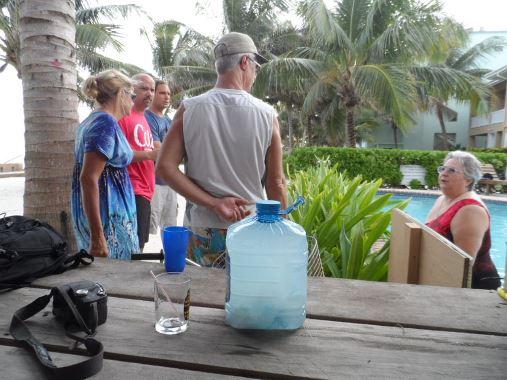 coco locos beach bar north ambergris caye