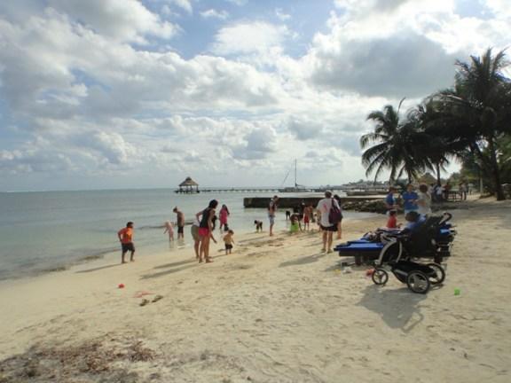 catamaran beach bar belize