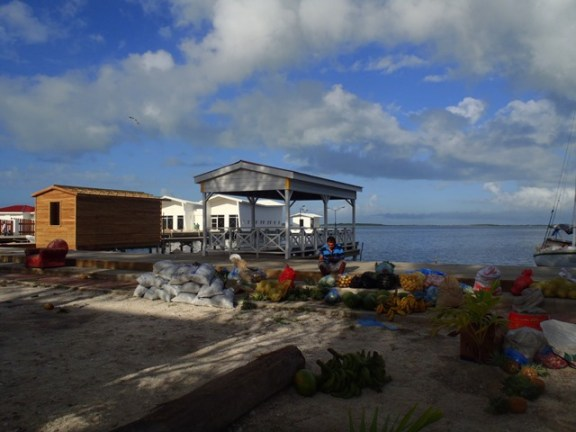 ambergris caye fruit market
