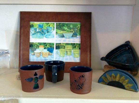 dragonfly pottery cayo