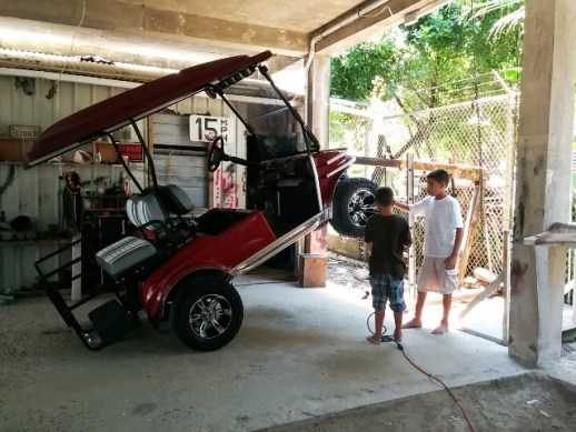 red club cart