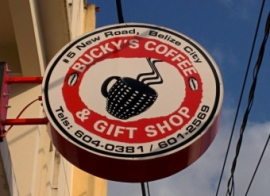 belize city coffee shop