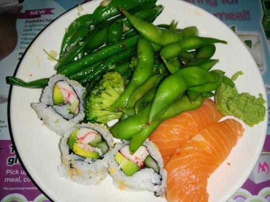 mandarin all you can eat sushi bar