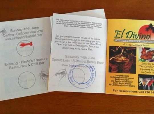 lobster festival passport