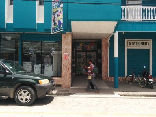 the angelus press queen street belize