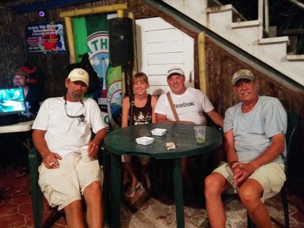 crazy canucks beach bar ambergris caye