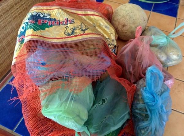 vegetables in belize