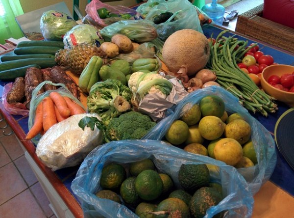 belize city vegetable market