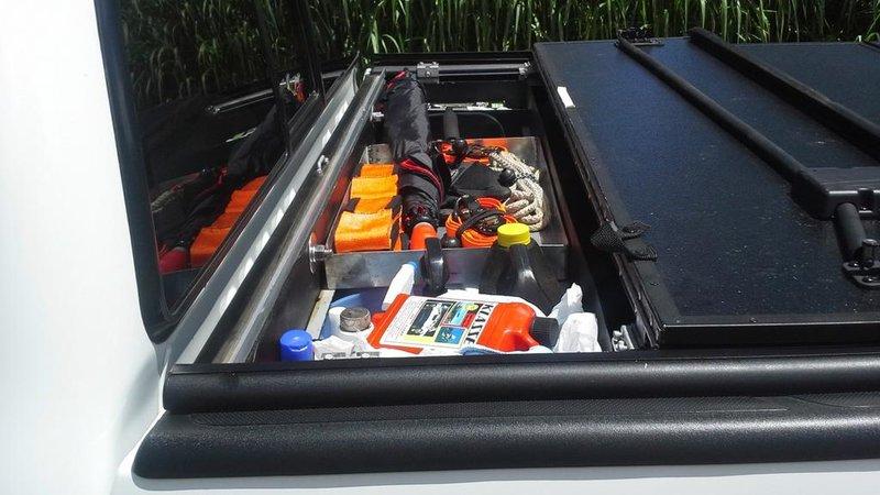 Tool Box Under Tonneau Cover Tacoma World