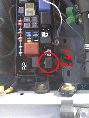 Power outlet fuse toyota 4runner