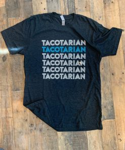 Tacotarian-T-shirt-Black