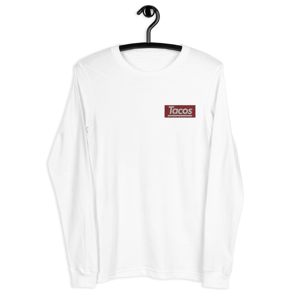 Taco Supreme Embroidery Long T-Shirts