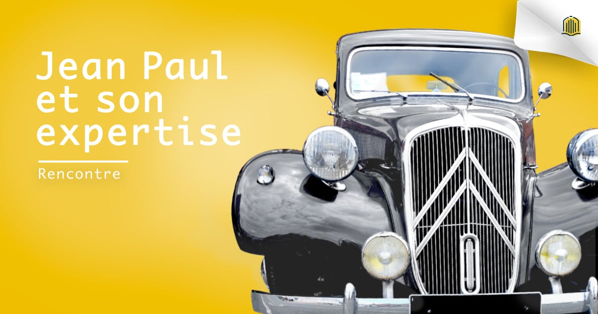 Jean Paul rend son expertise accessible