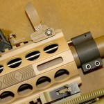 DRD Tactical Kivaari 300 Norma Magnum rifle handguard and front sight