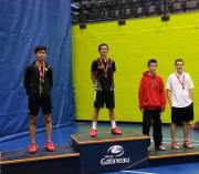Congratulations!Anthony Ngyuen for winning 3 consecutive National youth title. It was an impressive run, winning the Alantic, Quebec and Toronto Junior Elite title!