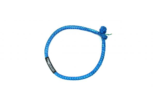 Blue Soft Shackle with 16,000 lbs. breaking strength by Tactical